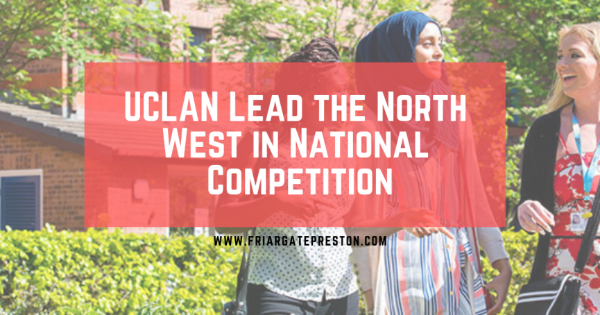UCLan lead the north west in national competition