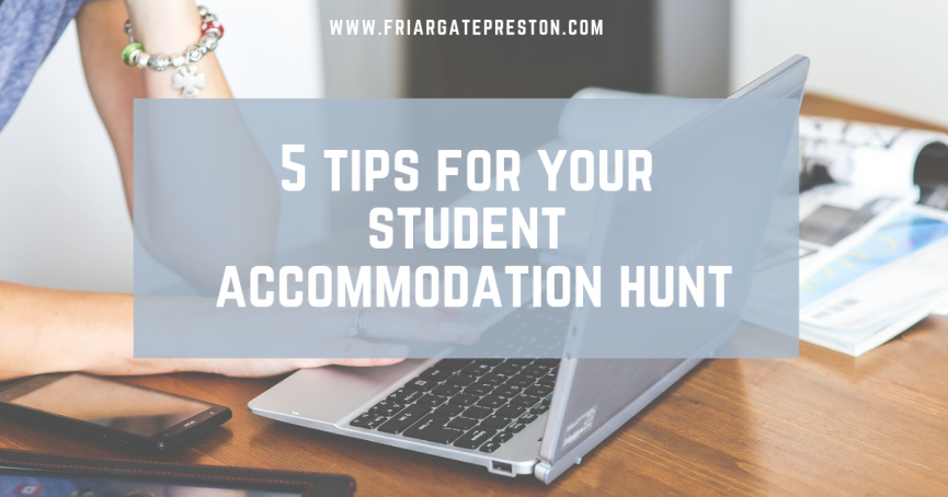 5 tips for your student accommodation hunt
